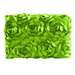 Cyber Fashion Newborn Baby 3D Photography Photo Props Rose Flower Backdrop Blanket Rug(Green)